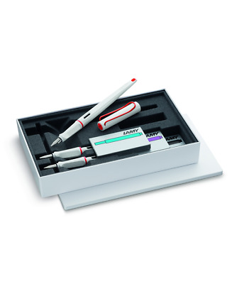 Lamy Set  Joy 015 White Red Special Edition
