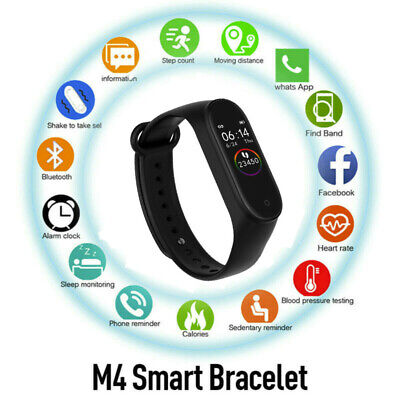 GLOBAL VERSION M4 Band Smart Watch Wristband Bluetooth 4.0 M4 NEW For Xiaomi