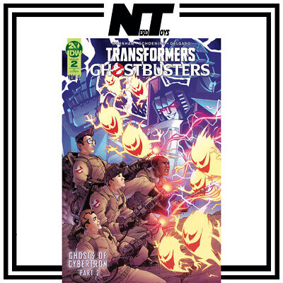 Idw Transformers Ghostbusters Ghosts Of Cybertron #2 1:10 Cover Andrew Griffith