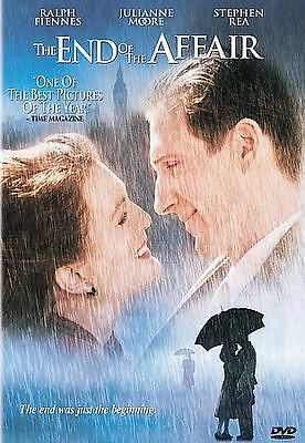 The End of the Affair (DVD 2000) LIKE NEW, Julianne Moore, Ralph Fiennes