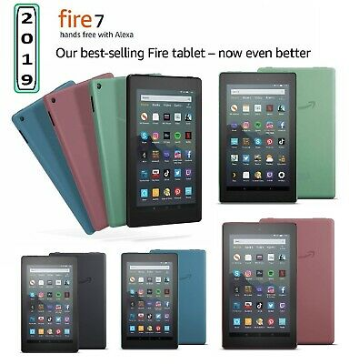 NEW AMAZON Fire 7 Tablet 9th Generation (2019) - 16GB With Special Offers