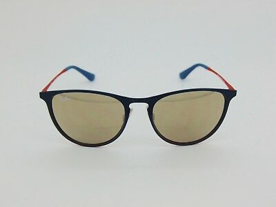 New Ray Ban Jr. RJ 9538S 253/5A Erika Green/Red-Gold Mirror Kids Sunglasses