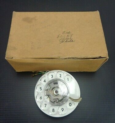 Vintage WESTERN ELECTRIC 8L - 58 / Rotary Dialer * White *