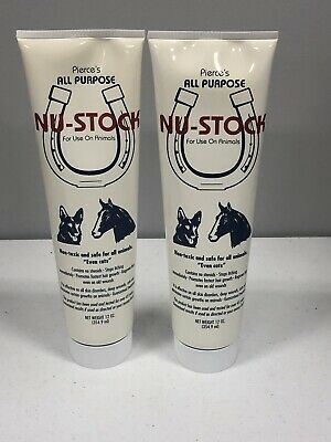 Duvet Pierce's Nu-Stock Ointment, 12-Ounce 12 oz. NEW 2 Pack