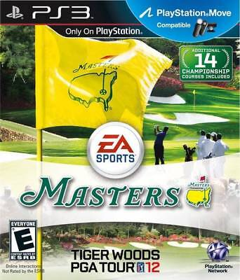 Tiger Woods Pga Tour 12: The Masters  ( Jeux Playstation 3 ) Cib