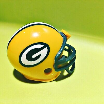 "Green Bay Packers Riddell Pocket Pros 2"" Mini Football Helmet NFL Collectible"