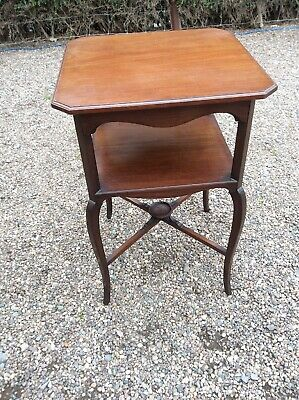 Victorian 3 Tier Wine Table Window Table Plant Stand