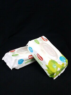 HUGGIES Natural Care Baby Wipes Unscented Sensitive Total 112 Count Pack of 2