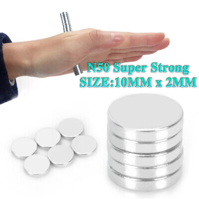 50-500pcs N50 Super Strong Magnet Round Disc Magnets Rare-Earth Neodymium Magnet