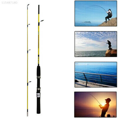 1.2M 3.94FT Telescopic Fishing Rod Travel Spinning Lure Rod Raft Pole H6C9