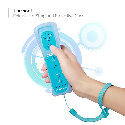 Wiimote Built in Motion Plus Inside Remote Nunchuck Controller For Wii & Wii U