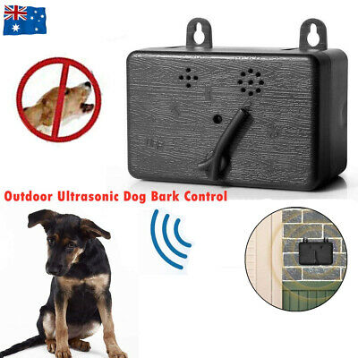 Outdoor Anti Barking Device Ultrasonic Pet Dog Bark Control Sonic Silencer Tool