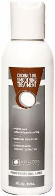 Amazon Keratin Coconut Oil Smoothing Tratamiento 118 ml / 4 OZ With Stem Cells