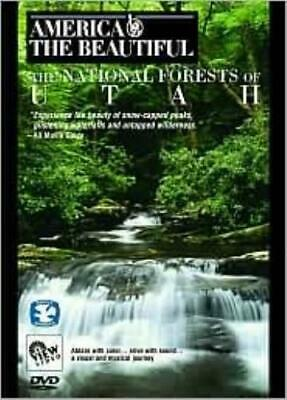 AMERICA THE BEAUTIFUL: NATIONAL FORESTS OF UTAH (Region 1 DVD,US Import,sealed.)