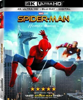 SPIDER-MAN: HOMECOMING (Region Free UHD BluRay,US Import,sealed.)
