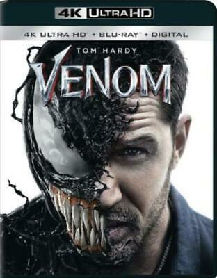 VENOM (2018) (Region Free UHD BluRay,US Import,sealed.)