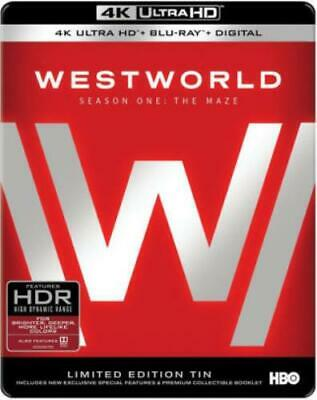 WESTWORLD: THE COMPLETE FIRST SEASON (Region Free UHD BluRay,US Import,sealed.)