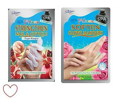 7th Heaven Finger Masques Hand Nail Masks Pamper Treatment Cuticle