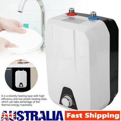 1500W Instant Electric Hot Water Heater Kitchen Bathroom Tankless Shower System