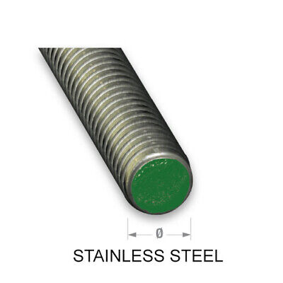 Steel Threaded Rod - Stainless Steel & Zinc Plated - Various Sizes