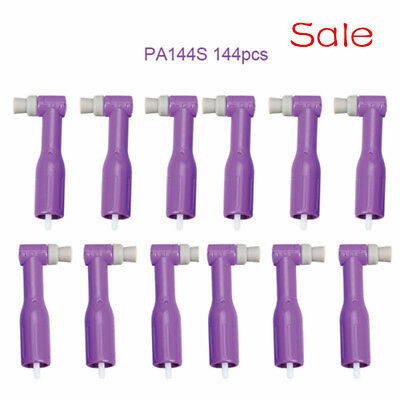 Medical 144pcs Dental Disposable Prophy Angles with Soft Cup Safe for Clinic