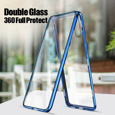 Für Huawei P30 Pro /P30 Lite 360°Metal Bumper Adsorption Case Schutz Handy Hülle
