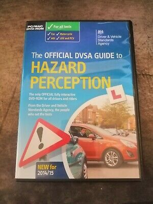 The Official DVSA Guide to Hazard Perception - PC DVD - Preowned