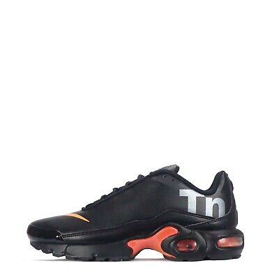 Tienda online elige lo último venta caliente real NIKE AIR MAX Plus TN SE Junior Youth Boys Leather Trainers Shoes,  Black/Orange - EUR 92,93 | PicClick FR