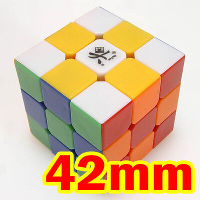 many styles exquisite style attractive price DAYAN ZHANCHI 3X3X3 6-Color Stickerless Speed Cube Magic ...