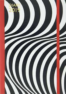 Lulu Guinness: A5 2019 Optical Stripe Diary,New,Books,mon0000152065 MULTIBUY
