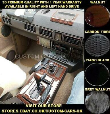 LAND ROVER RANGE ROVER CLASSIC 1986-1996 Dash Kit Walnut - Carbon - Piano Black