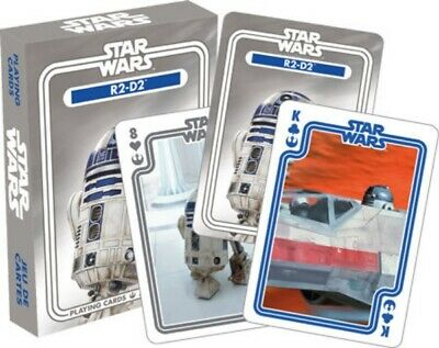 Star Wars R2-D2 Droid Companion Photo Illustrated Playing Cards Deck NEW SEALED