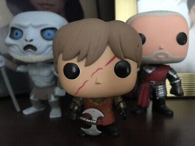 Game Of Thrones Funko Pop Tywin Lannister, Tyrion Blackwater, White Walker. Lot