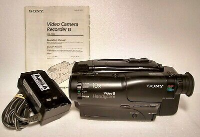 SONY HANDYCAM CCD-TRV615 8mm Video8 HI8 Camcorder Player