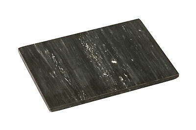 Rectangular Marble Stone Kitchen Chopping Board 30x15CM HEAVY WT COLOR BLACL