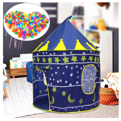 Portable Playhouse Tent Toy Outdoors Indoor Castles Foldable Tents Children Toys