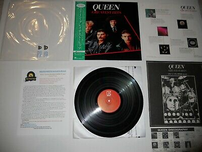 Queen Greatest Hits Mint 1st '81 Japan RARE ARCHIVE MASTER Ultrasonic CLEAN