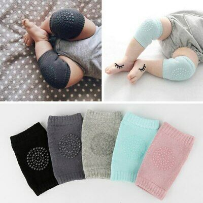 Knee Pads Baby Safety Crawling Elbow Protector Cushion Toddler Slip Anti Kids Le