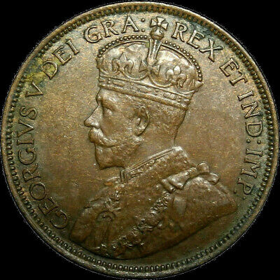 1916 Canada Large Cent George V Nice Coin!
