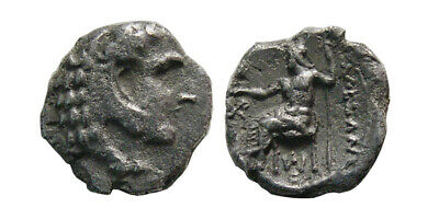 PCW-G6717-KINGS OF MACEDON. Alexander III. 336-323 BC. AR Obol. Extremely Rare.