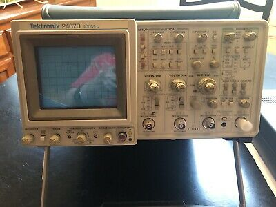 Tektronix 2467B 4 channel Oscilloscope 400MHZ