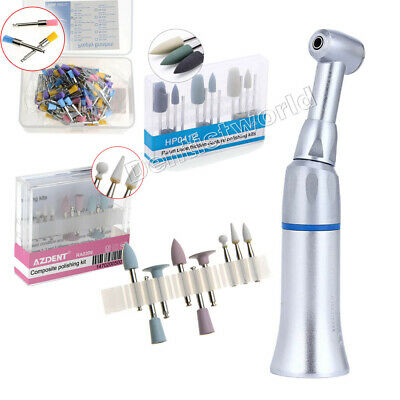 Dental Low Speed Contra Angle Handpiece Polishing Brushes Resin Polisher Bur