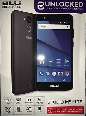 low priced 942d0 5d775 NEW OEM UNLOCKED BLU Studio M5 Plus LTE 16GB Quad-Core 5.5