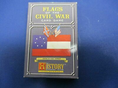 Flags Of The Civil War Playing Cards Sealed Deck Game History Channel Poker 2004