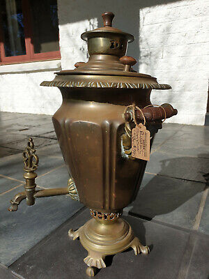 Samovar Antique Russian 1900 Era Compleat