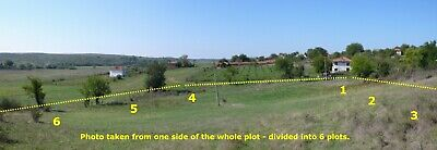 Bulgarian Property - 6 Plots With Access Road or 1 Large Plot - Bargain Price !!