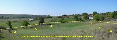 Bulgarian Property - 6 Plots or 4,570 m2 Plot - MONTHLY PAYMENTS NOW AVAILABLE !