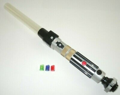 Star Wars Build Your Own Lightsaber Ultimate Electronic Kyber Crystals Hasbro