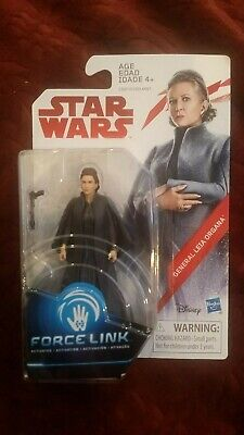 "STAR WARS Force Link 3.75"" GENERAL LEIA ORGANA - MINT SEALED"
