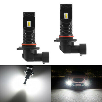 2x 9006 HB4 CSP Auto Car LED Fog Light Bulbs Driving Lamp DRL 6500K White LD1948